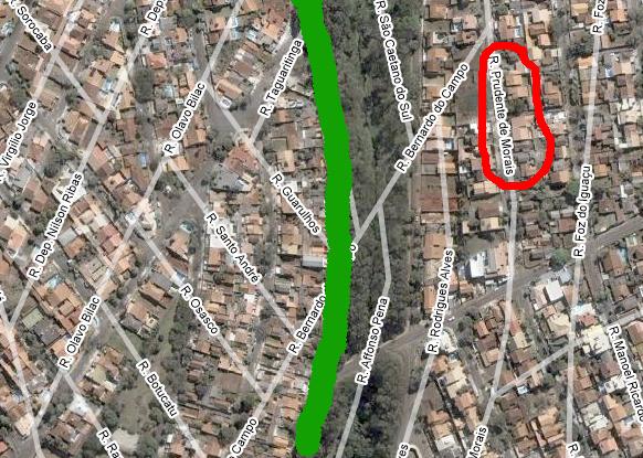 Londrina - Erro do GoogleMaps